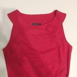 Red Anne Klein dress